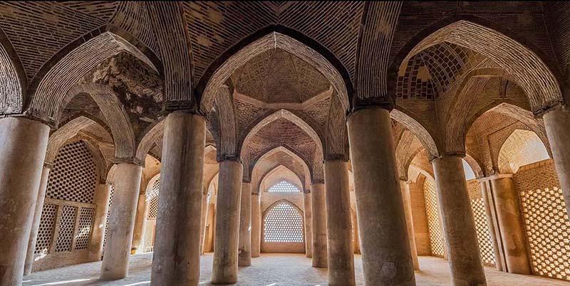 Самая красивая мечеть в Иране. Фото мечети шейха Джамме в Исфахане