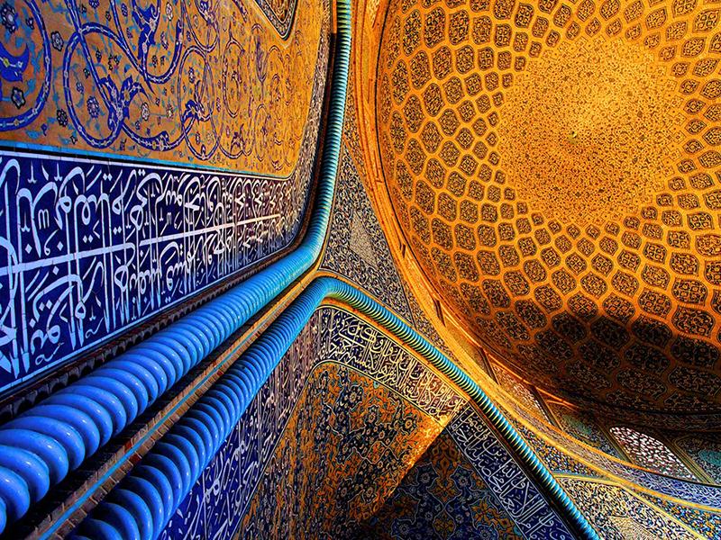 Самая красивая мечеть в Иране. Фото мечети шейха Лютфуллы в исфахане