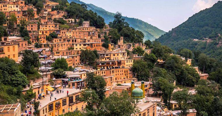 Деревня Масуле, построенная на крышах домов