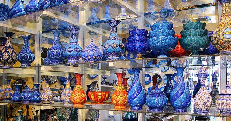 Минакари – иранское искусство росписи