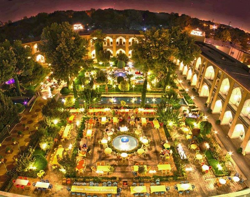 Все про отели Ирана. Самый роскошный отель в Исфахане