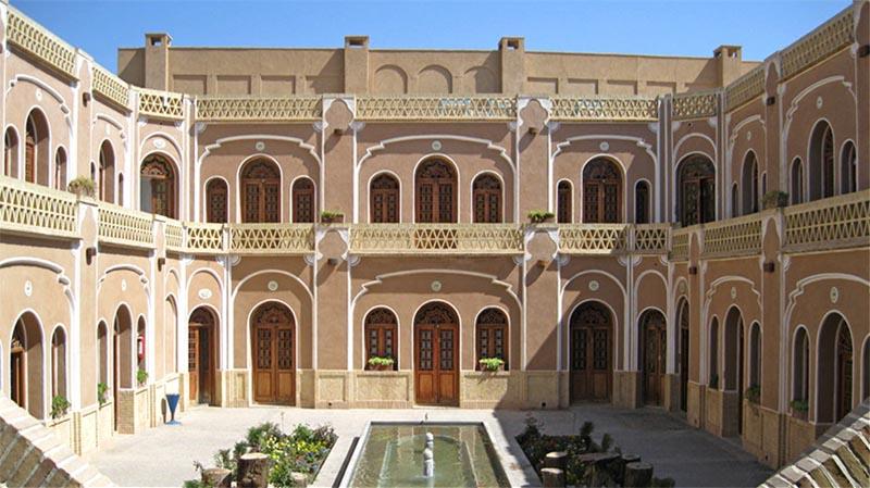 Все про отели Ирана. Традиционный отель в Язде