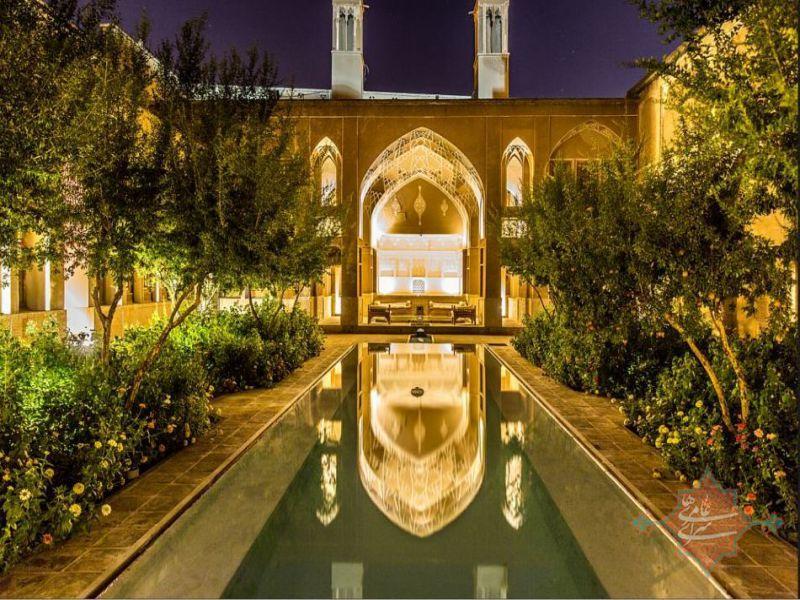 Все про отели Ирана. Недорогой отель в Кашане