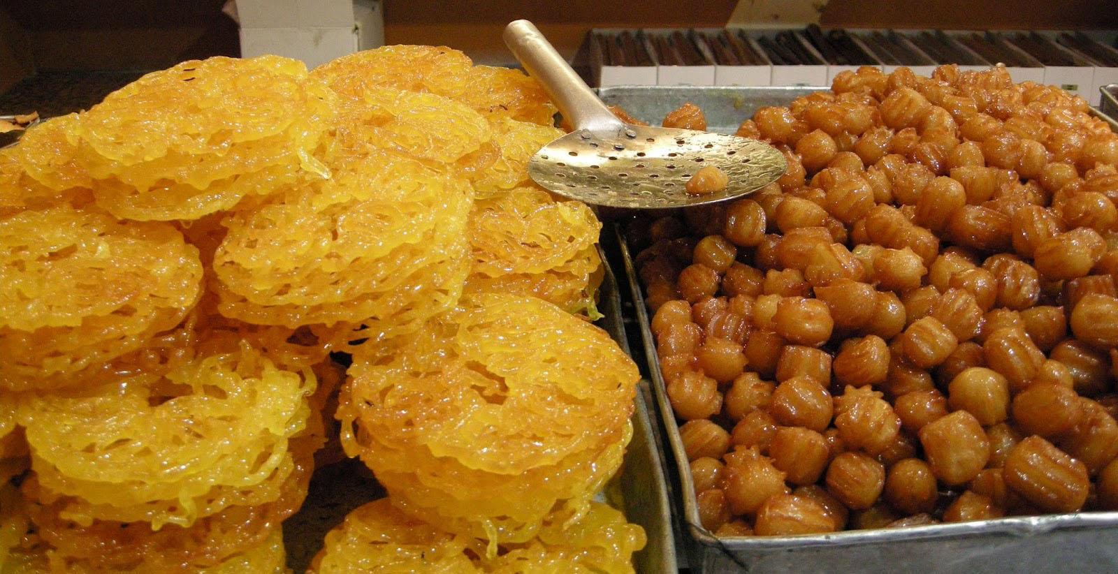 Про Иран и самые лучшие персидские сладости - зульбия