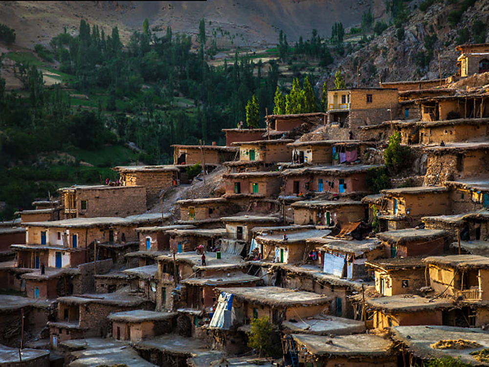 Деревня sar agha seyed, Иран. Фото в блоге bazariran.ru