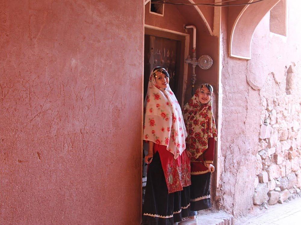 Деревня Абьяне, Иран. Фото в блоге bazariran.ru