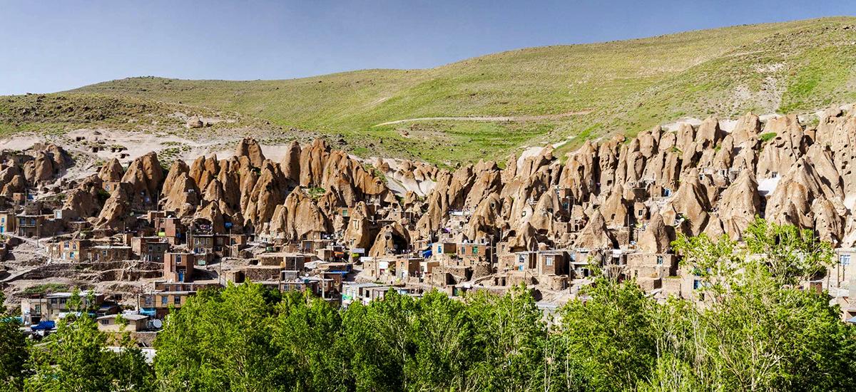 Традиционная деревняКандован в Иране. Фото в блоге bazariran.ru