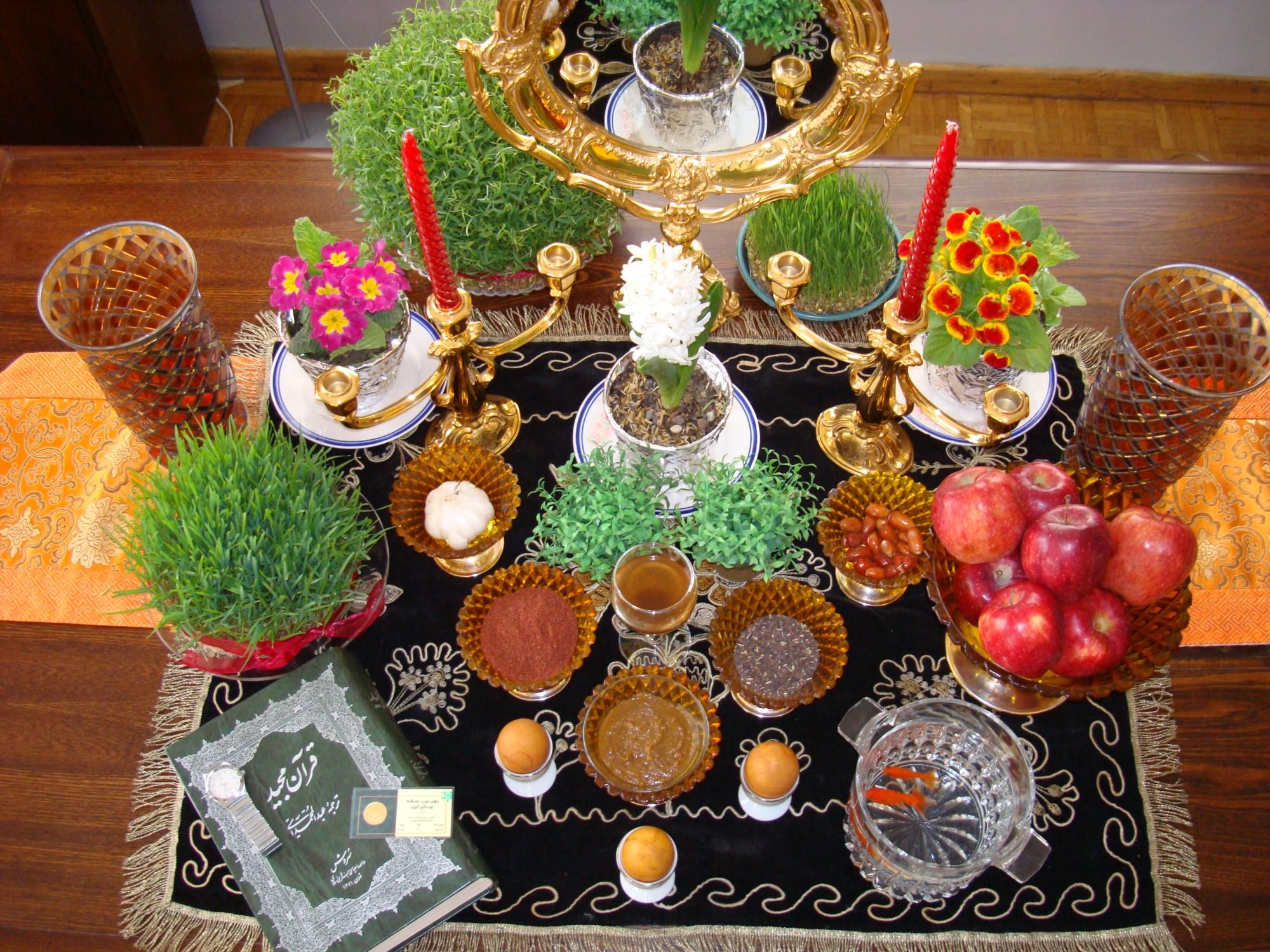 Все, что вы хотели знать про иранский Новый Год: семь предметов хафт син