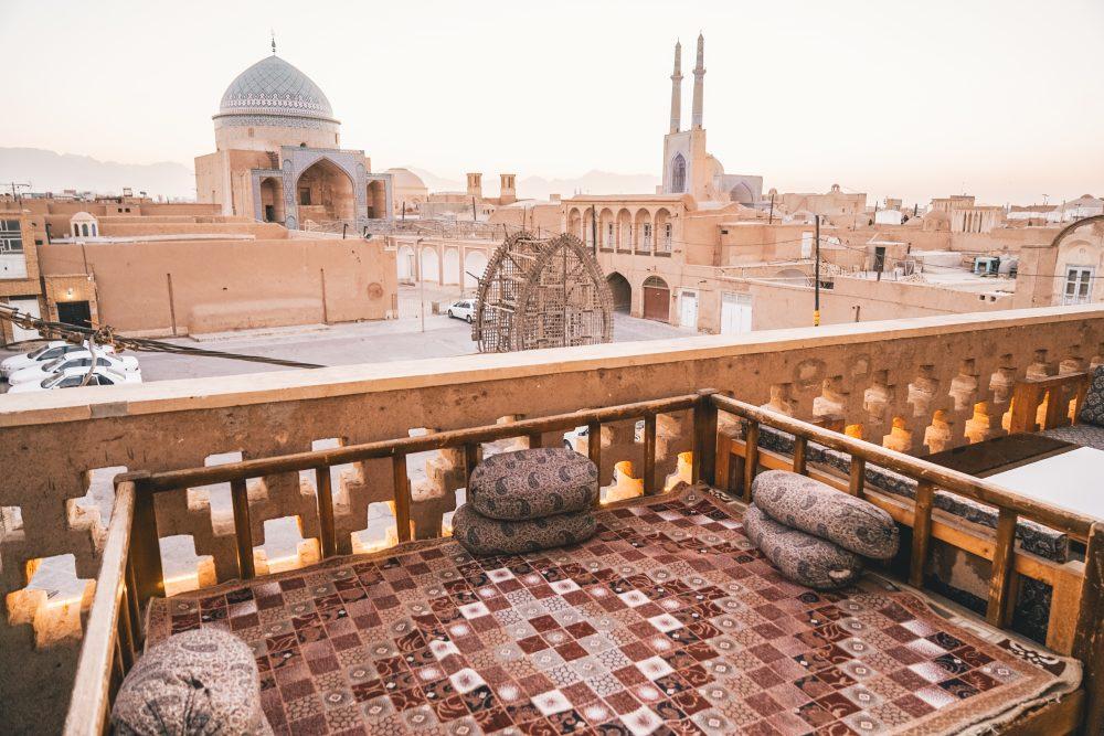 Город Йезд в Иране: прогулка по крышам и другие достопримечательности. Обзор в блоге про Иран bazariran.ru