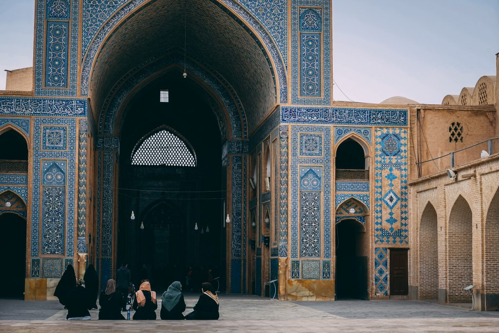 Город Йезд в Иране: мечеть Джамме и другие достопримечательности. Обзор в блоге про Иран bazariran.ru