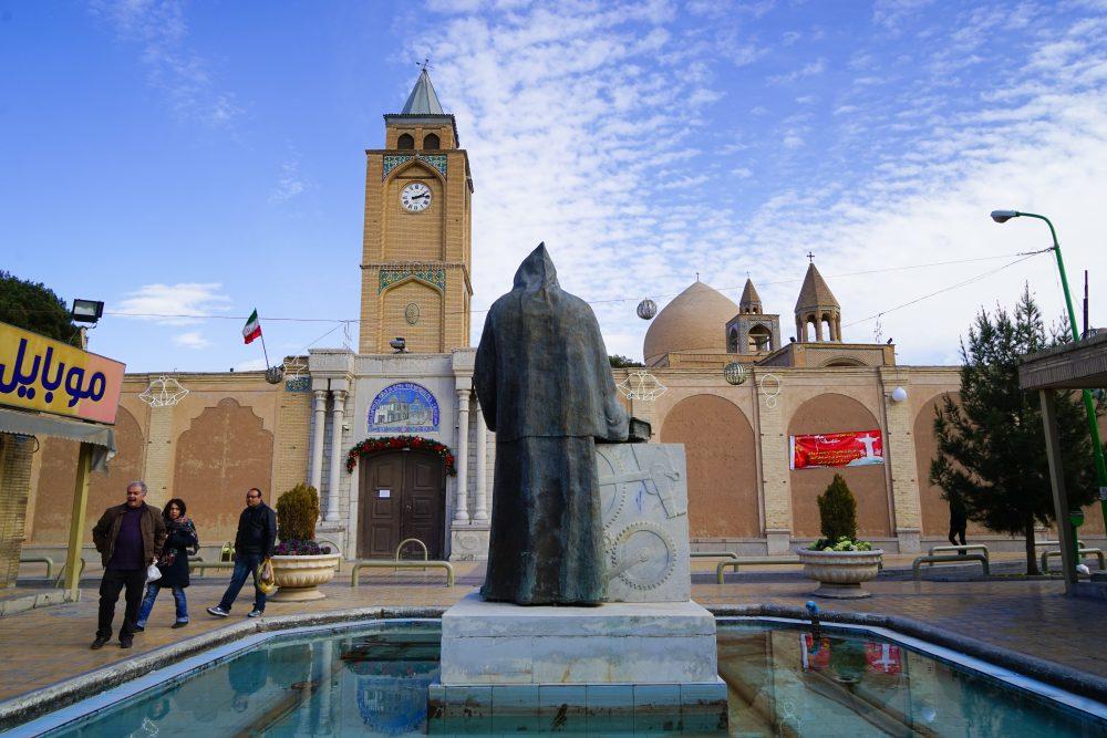 Что посмотреть в Исфахане: христианский собор Ванк. Про Иран в блоге bazariran.ru