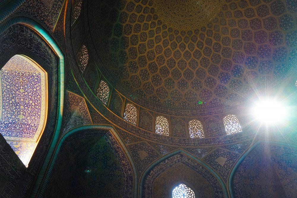 Что посмотреть в Исфахане: мечеть шейха Лютфуллы. Про Иран в блоге bazariran.ru