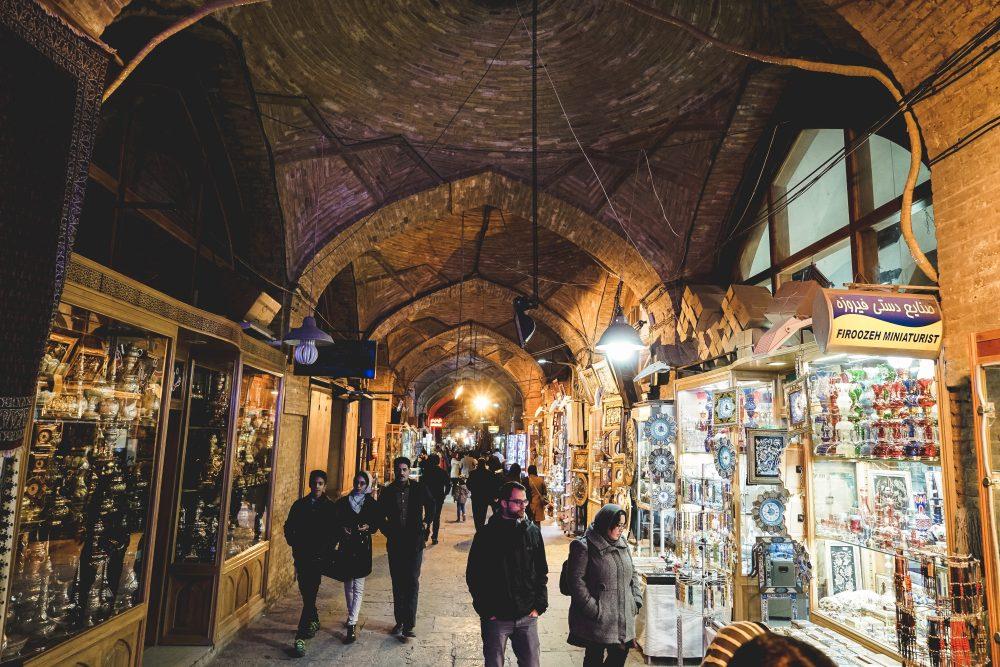 Что посмотреть в Исфахане: большой базар. Про Иран в блоге bazariran.ru