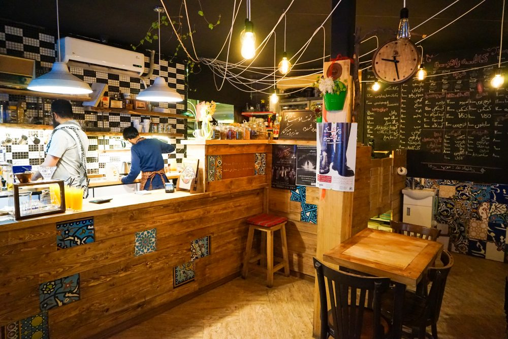Что посмотреть в Исфахане: модные кофейни. Про Иран в блоге bazariran.ru