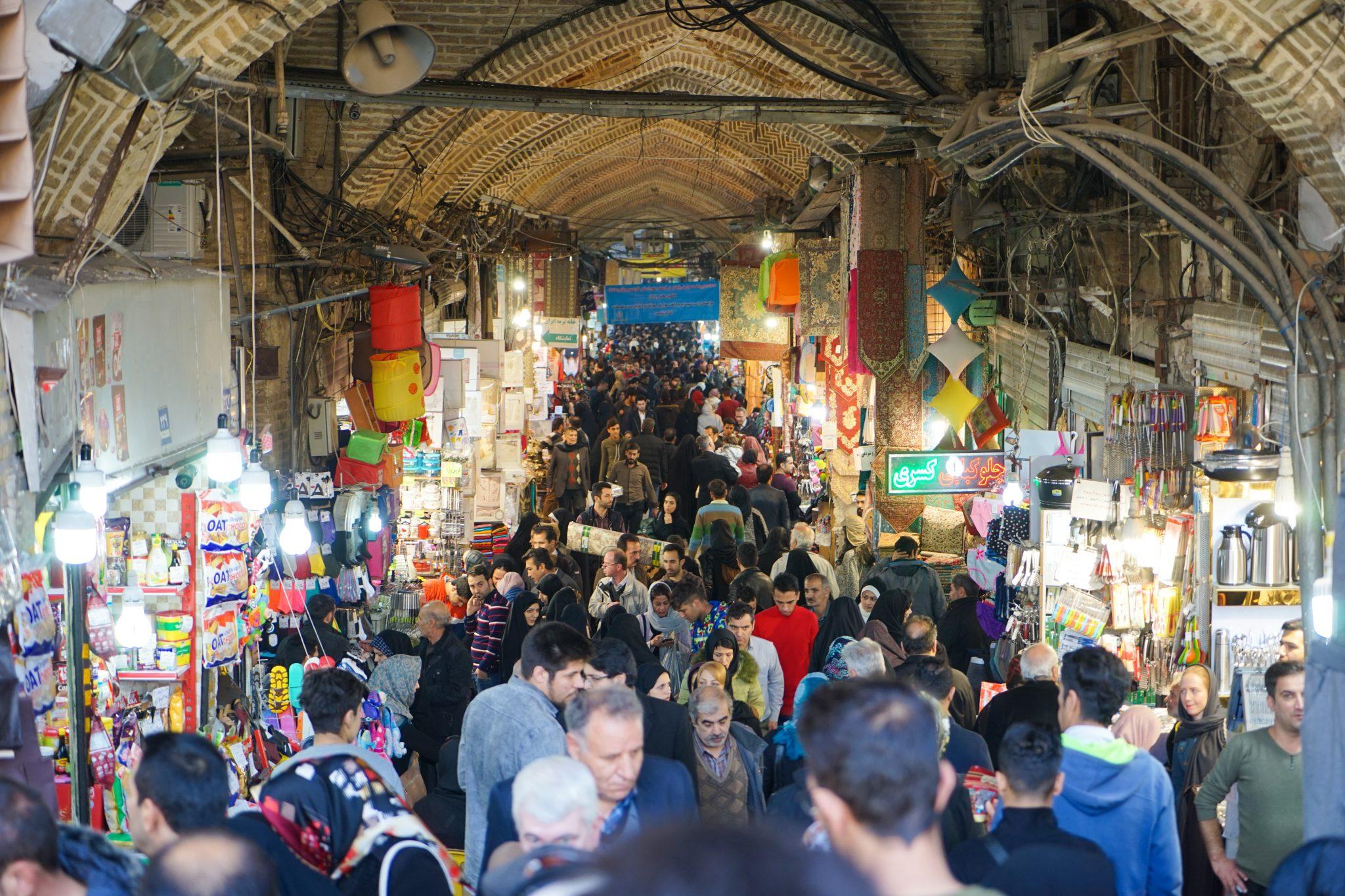 Что посмотреть в Тегеране: Большой Базар. Еще больше про Иран в блоге Bazariran.ru