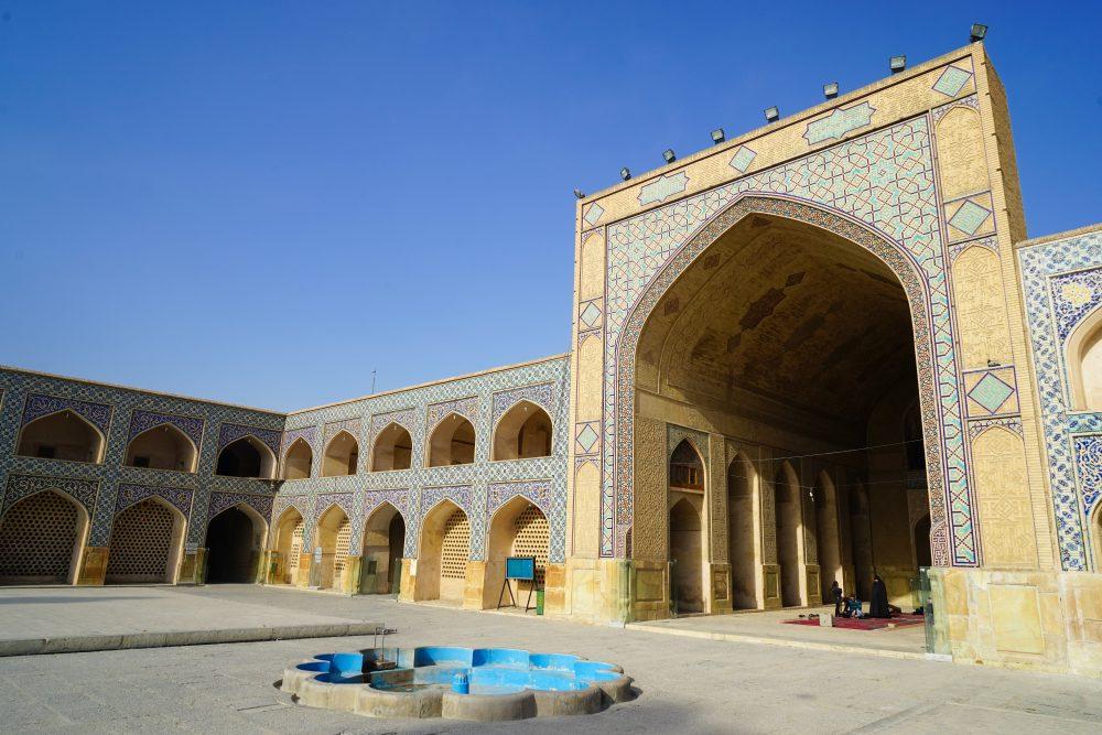 Что посмотреть в Исфахане: мечеть Джамме. Про Иран в блоге bazariran.ru