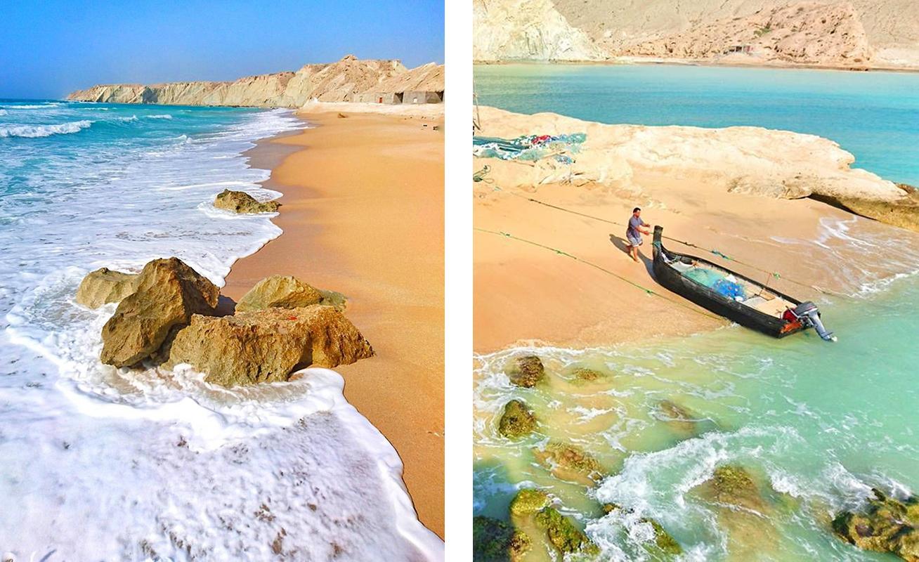 Пляжи эселуйе Иран. Фото для блога bazariran.ru