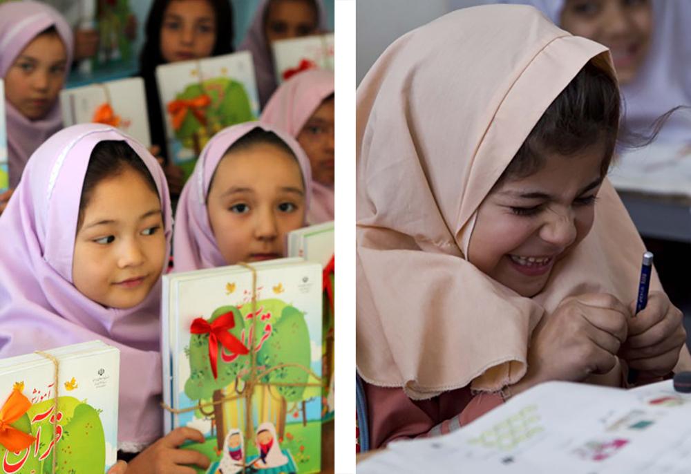 Девочки в иранской школе. Фото для блога bazariran.ru