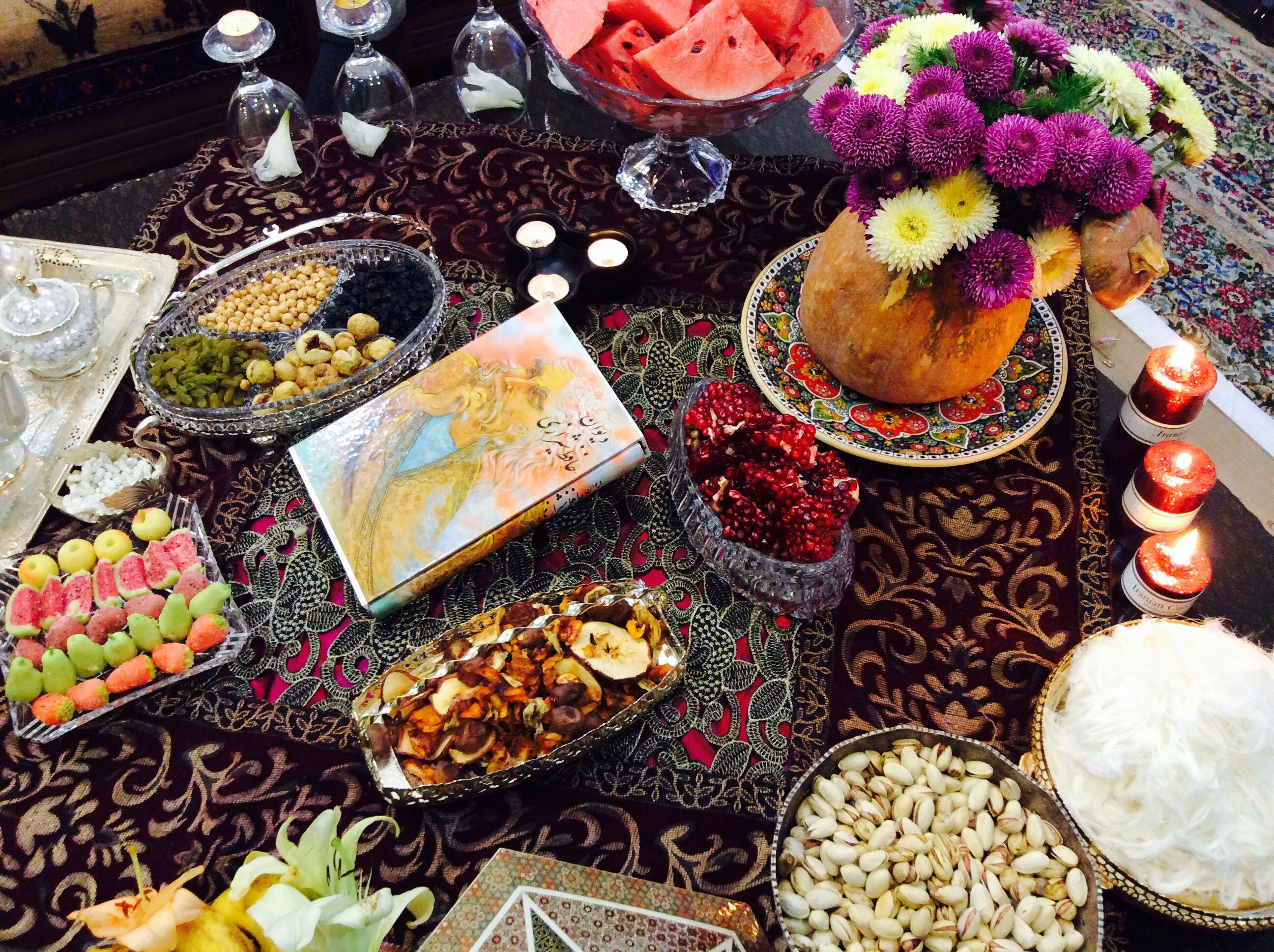 Традиции и ритуалы на праздник Ялда в Иране