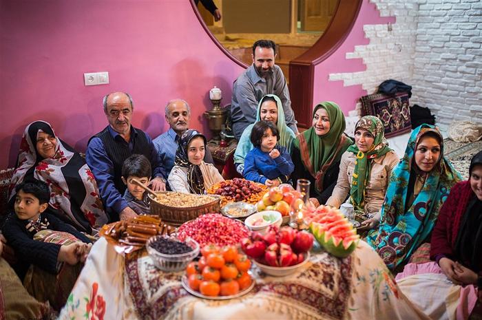 праздник Ялда в Иране