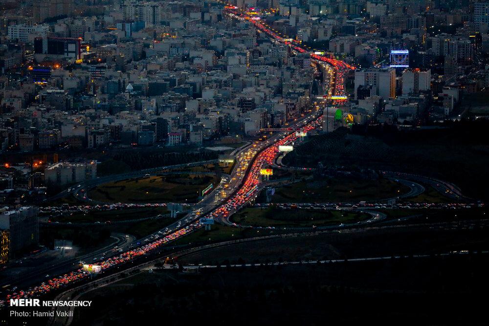 Тегеран застыл в пробках перед Новрузом