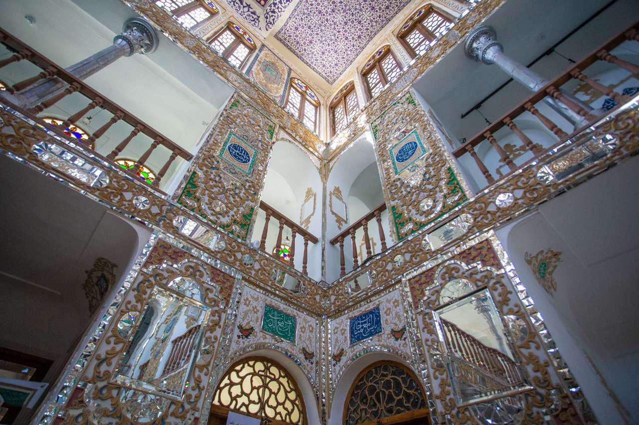 Особняк Мошир оль Мольк в Исфахане. Блог про Иран bazarirna.ru
