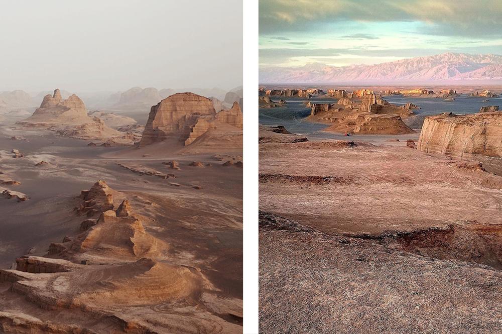 Пустыня Дешт-е Лут. Природа Ирана в блоге bazariran.ru