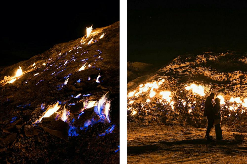 Пылающая гора Ташкух. Природа Ирана в блоге bazariran.ru