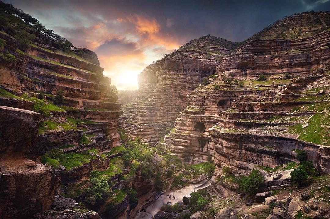 Каньон Ширез. Природа Ирана в блоге bazariran.ru