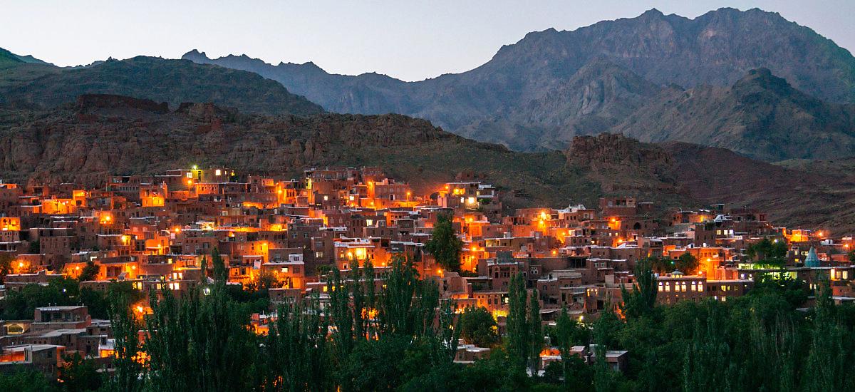 Традиционные деревни в Иране