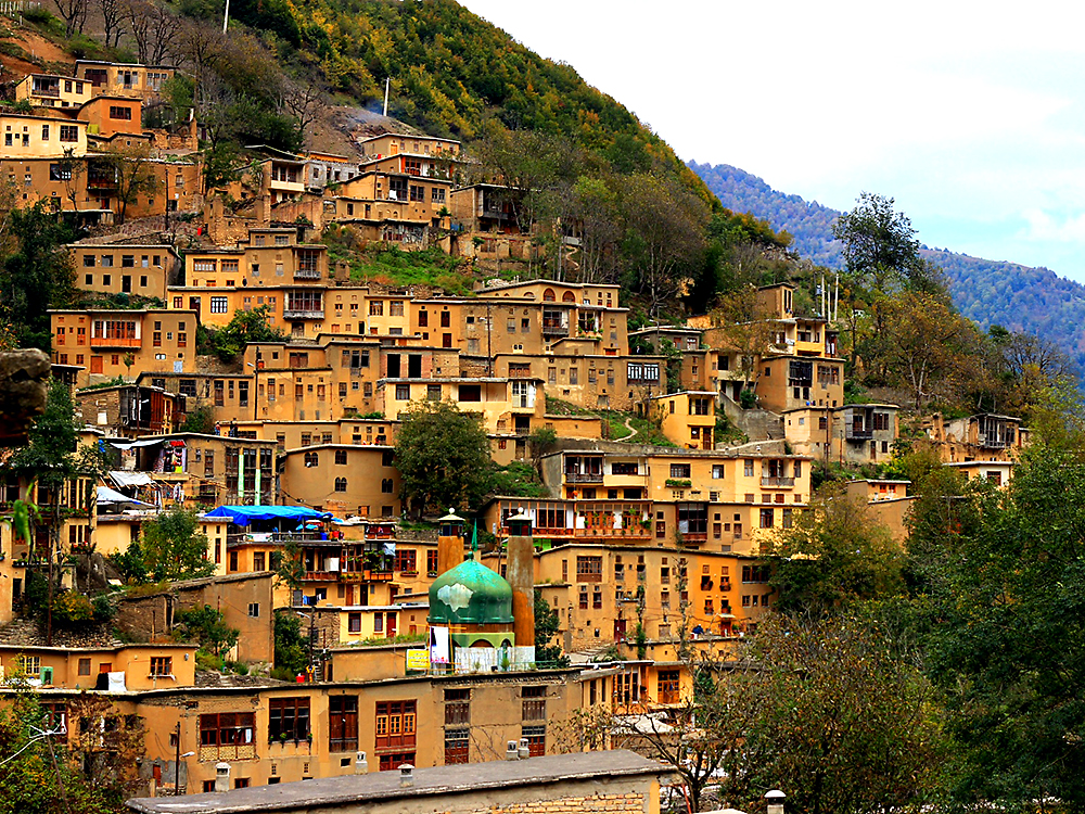 Деревня Масуле, Иран. Фото в блоге bazariran.ru