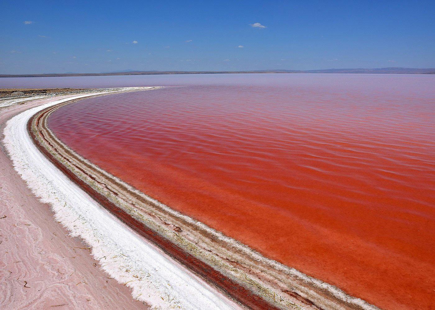 Озеро Умрия Иран фото для bazariran.ru