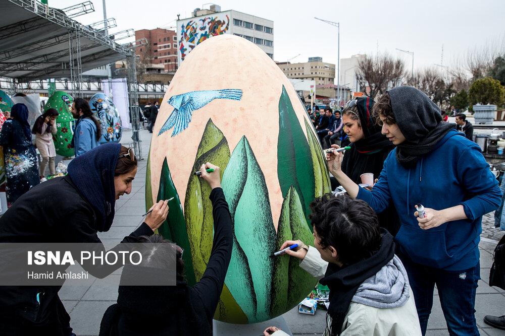 Фестиваль расписных яиц в Тегеране